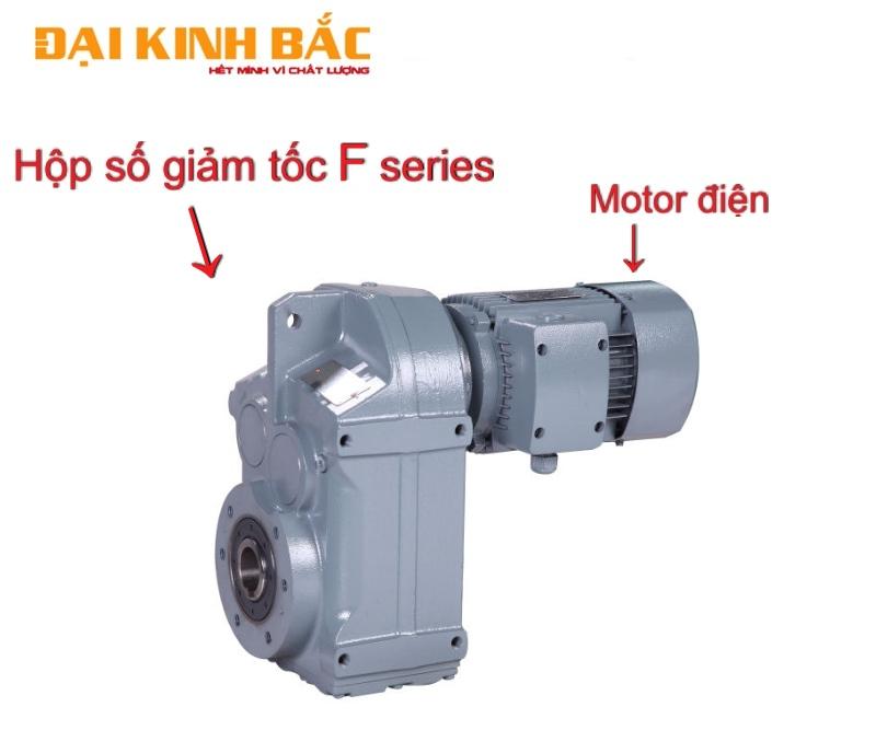Cấu tạo motor F series