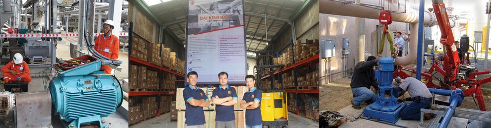 Đội ngũ kỹ thuật Đại Kinh bắc