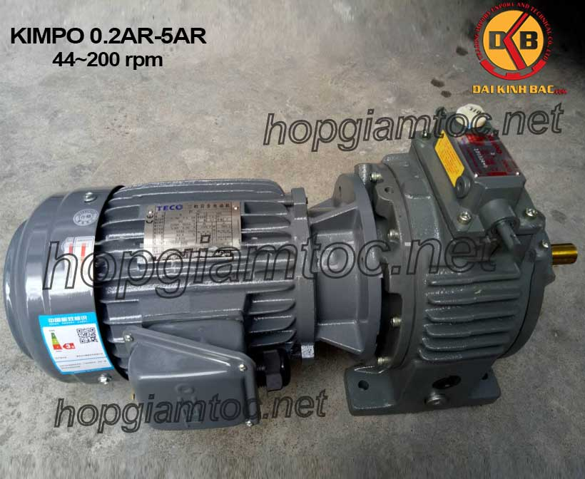 Hình ảnh motor chỉnh tốc Kimpo 44~200rpm