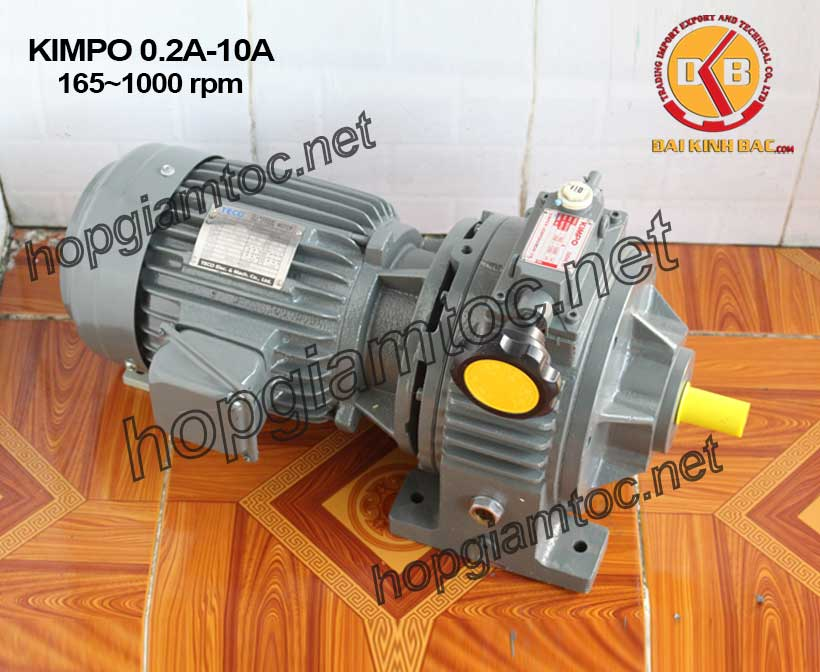 Hình ảnh motor chỉnh tốc kimpo 165~1000rpm