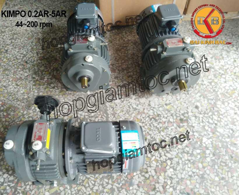 Hình ảnh motor điều tốc Kimpo 44~200rpm