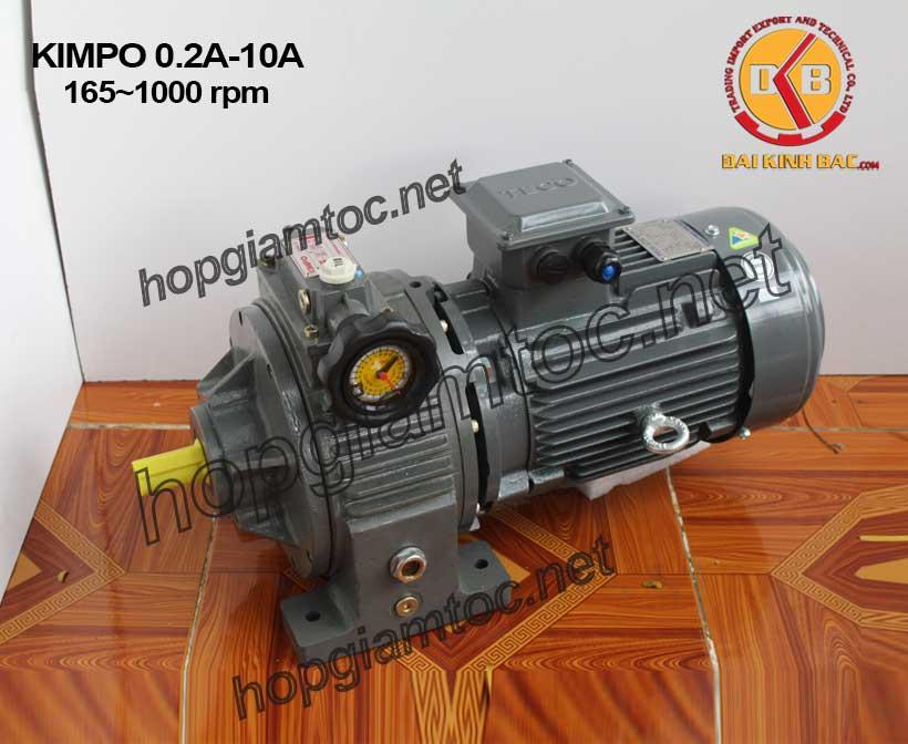 Hình ảnh điều tốc cơ Kimpo 165~1000rpm