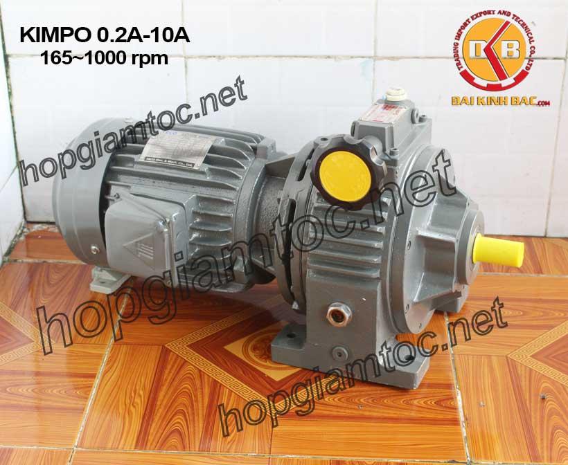 Hình ảnh motor điều tốc Kimpo 165~1000rpm