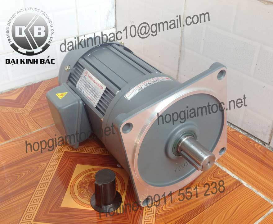 Motor giảm tốc Wansin mặt bích 0.4kw