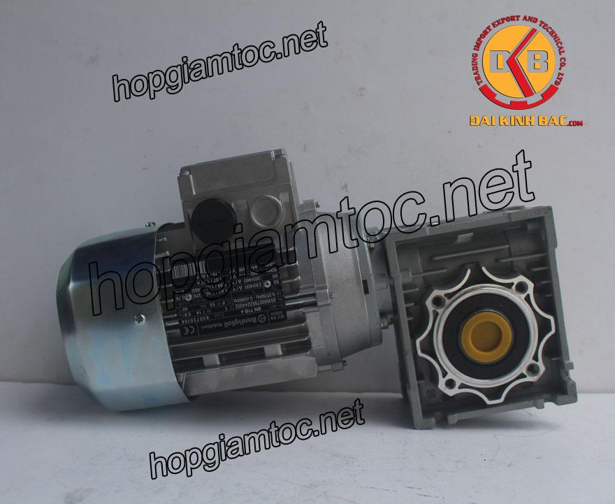 Motor giảm tốc cốt âm 0.75kw 1HP
