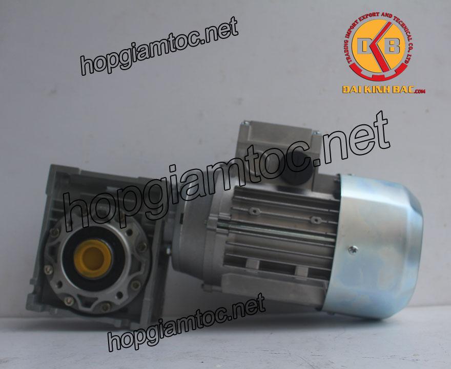 Motor giảm tốc cốt âm 1.5kw 2HP
