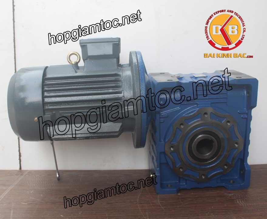 Motor giảm tốc cốt âm 7.5kw 10HP