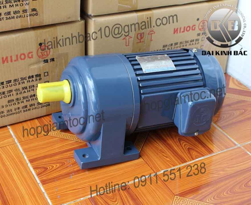 Motor giảm tốc Dolin chân đế 0.1kw