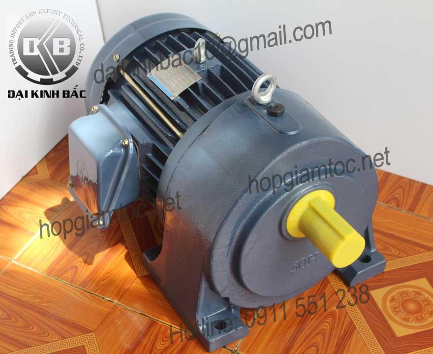 Motor giảm tốc Dolin chân đế 1.5kw
