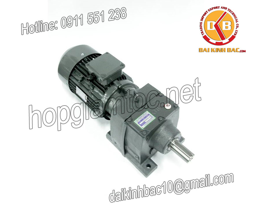 Motor giảm tốc bánh răng 0.75kw 1HP