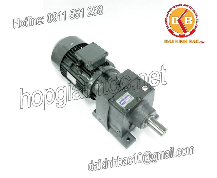 Motor giảm tốc 5.5kw 7.5HP 1/20