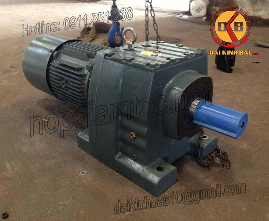 Motor giảm tốc bánh răng 22kw 30HP