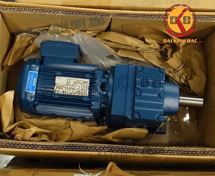Motor giảm tốc 5.5kw 7.5HP 1/25