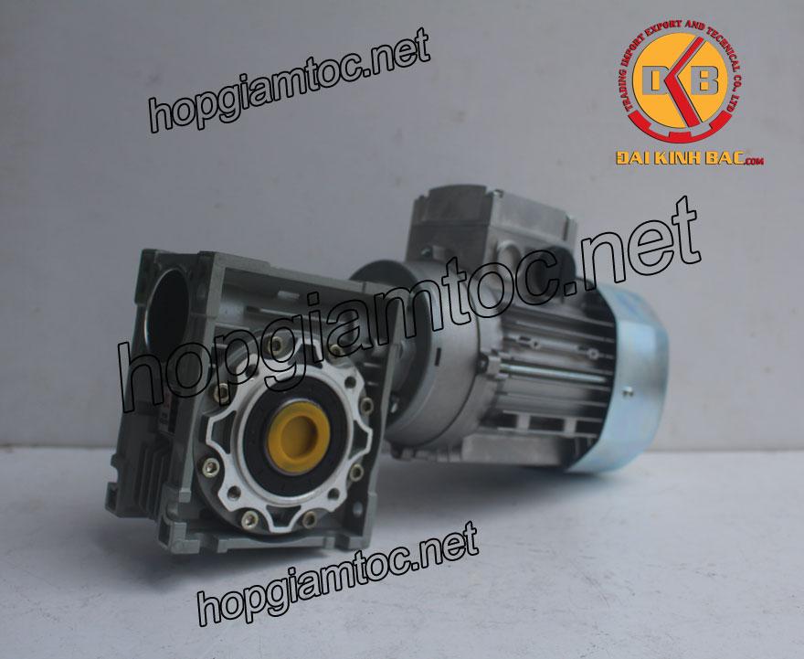 Motor giảm tốc cốt âm 0.25kw 1/3HP