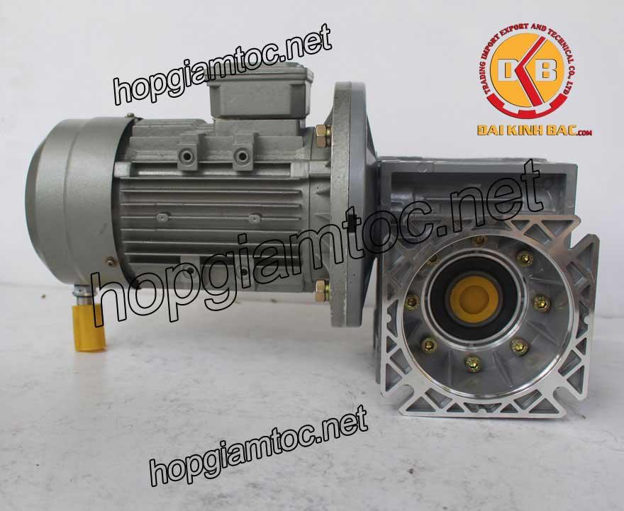 Motor giảm tốc cốt âm 3kw 4HP