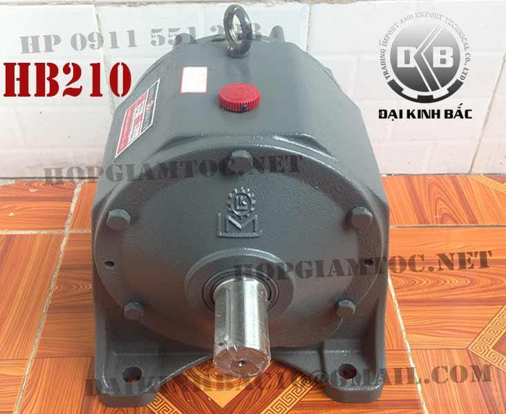 Đầu giảm tốc liming HB 210