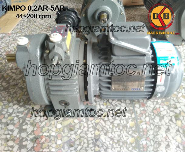 Động cơ vô cấp Kimpo 44~200 rpm