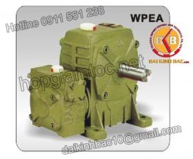Hộp giảm tốc trục vít 2 cấp  WPEA