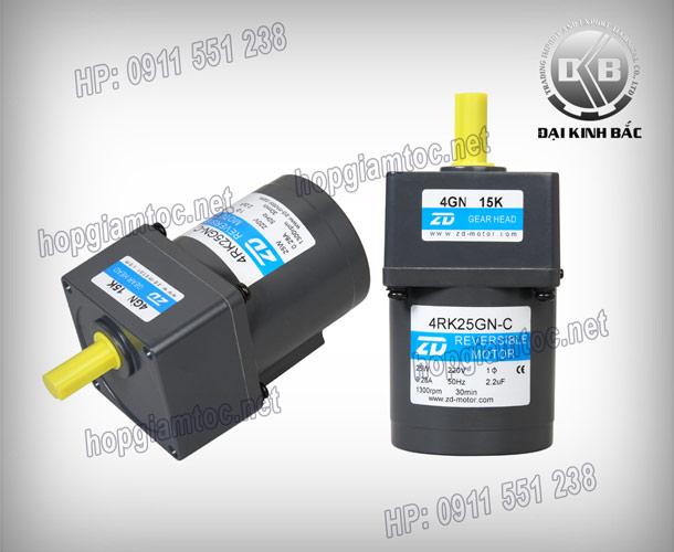 Induction motor 25w 4IK25GN-C