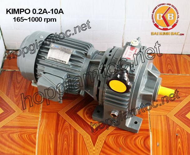 Motor chỉnh tốc Kimpo 165-1000rpm
