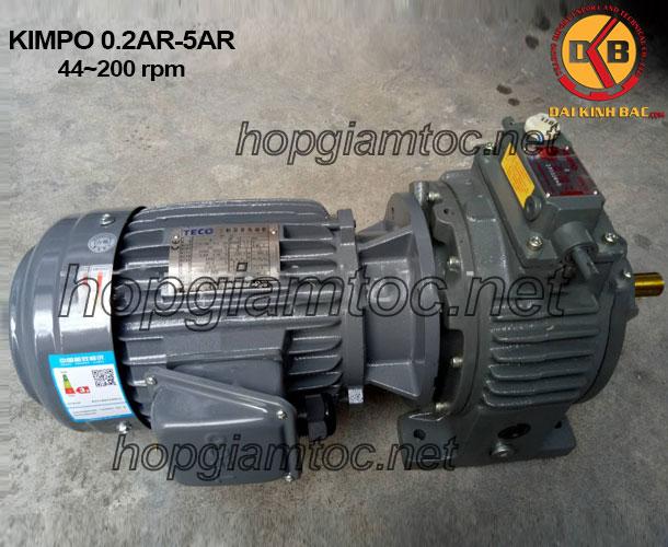 Motor chỉnh tốc Kimpo 44-200rpm