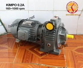 Motor điều tốc Kimpo 0.25hp 165~1000