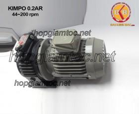 Motor điều tốc Kimpo 0.25hp 44~200