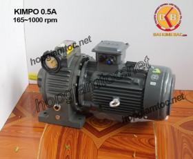 Motor điều tốc Kimpo 0.5hp 165~1000