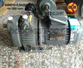 Motor điều tốc Kimpo 0.5hp 44~200