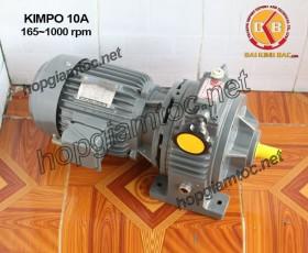 Motor điều tốc Kimpo 10hp 165~1000