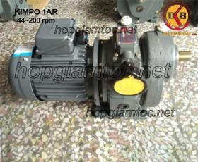 Motor điều tốc Kimpo 1hp 44~200