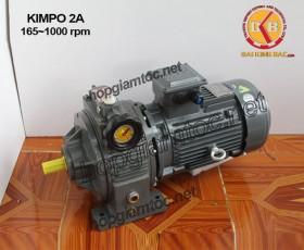 Motor điều tốc Kimpo 2hp 165~1000