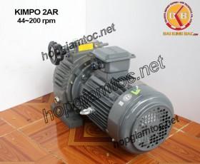 Motor điều tốc Kimpo 2hp 44~200