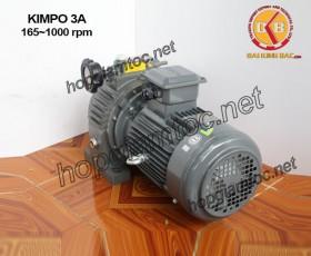 Motor điều tốc Kimpo 3hp 165~1000