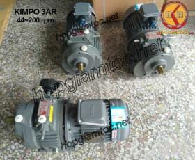 Motor điều tốc Kimpo 3hp 44~200
