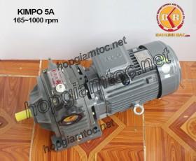 Motor điều tốc Kimpo 5hp 165~1000