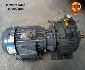 Motor điều tốc Kimpo 5hp 44~200