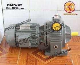Motor điều tốc Kimpo 7.5hp 165~1000
