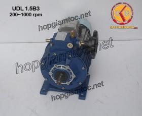 Motor điều tốc UDL B3 1.5kw 200~1000