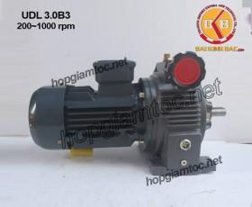 Motor điều tốc UDL B3 3kw 200~1000