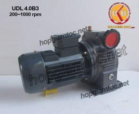 Motor điều tốc UDL B3 4 kw 200~1000