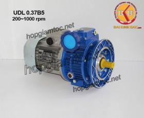 Motor điều tốc UDL B5 0.37kw 200~1000