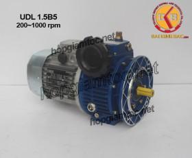 Motor điều tốc UDL B5 1.5kw 200~1000