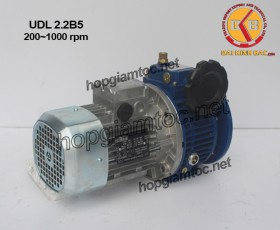 Motor điều tốc UDL B5 2.2kw 200~1000