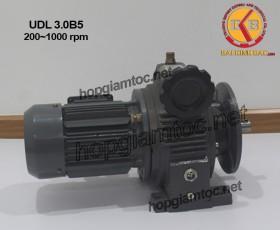 Motor điều tốc UDL B5 3.0kw 200~1000