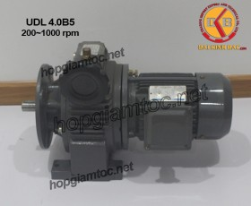 Motor điều tốc UDL B5 4.0kw 200~1000