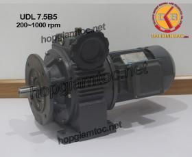 Motor điều tốc UDL B5 7.5kw 200~1000