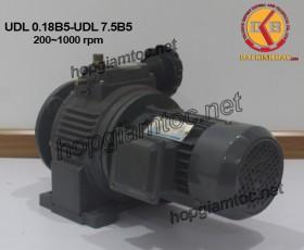 Motor điều tốc UDL Mặt bích B5