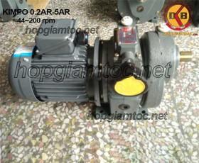 Motor điều tốc vô cấp 44~200rpm