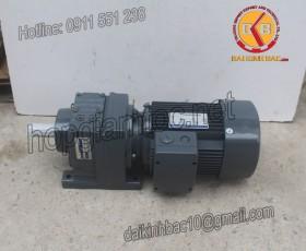 Motor giảm tốc 11kw 15HP 1/10